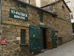 Ein Pub in St. Malo Frankreich